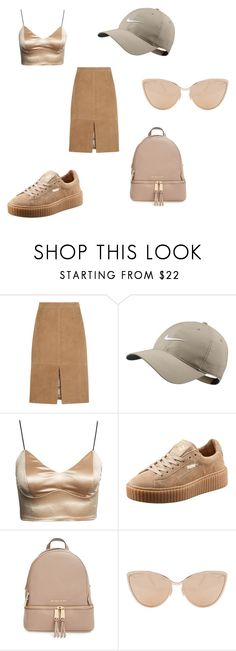 """Shades"" by her-aesthetic on Polyvore featuring J.Crew, NIKE, Puma, MICHAEL Michael Kors and Cutler and Gross"