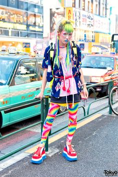 Colorful & Kawaii 6%DOKIDOKI Fashion On The Street in Harajuku