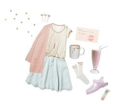 """""""softer, softest."""" by cemeteryfairy on Polyvore featuring Calypso St. Barth, Eberjey, Forever 21 and Tiffany & Co."""
