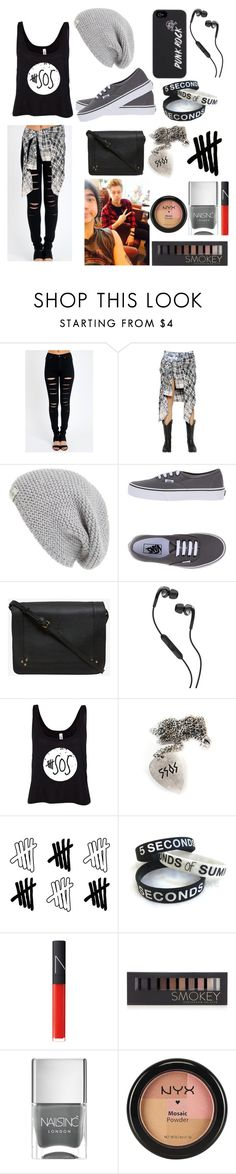 """""""[Request]Meeting Cake"""" by sammierock ❤ liked on Polyvore featuring Calle, Faith Connexion, UGG Australia, Vans, Jérôme Dreyfuss, Skullcandy, NARS Cosmetics, Forever 21, Nails Inc. and NYX"""