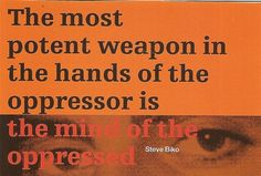 The most potent weapon