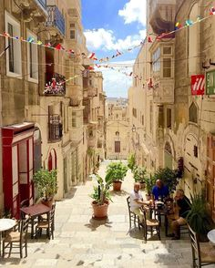 Good Morning from Malta's #Capital City #Valletta! Tag someone who should visit this historical city!  Featured Photographer: @sebastiendoze  Tag your #photos with #MaltaPhotography to get a chance to be #featured on @maltaphotography - http://ift.tt/1fpoK0v  #GoodMorning #city #street #history #v18 # stairs #blue #thursday #shops #hotel #picturesque #colours #island #jj #Malta #Photography #instagramhub #photooftheday #picoftheday #l4l #beautiful #lonelyplanet #travel #destination…