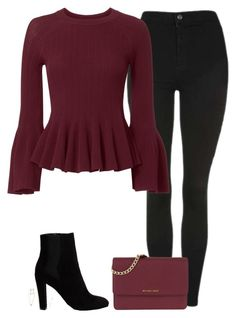 """""""Untitled #1007"""" by bellax0x on Polyvore featuring Topshop, Jonathan Simkhai, River Island, MICHAEL Michael Kors, Shay, Blue Nile and Casato"""
