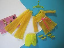 Vintage Barbie Complete Outfit LEMON KICK #1465 NM Excellent Free Shipping USA