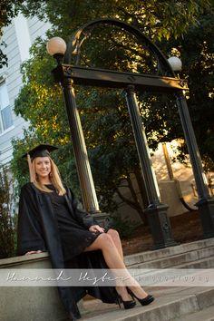 UGA Graduation photo ideas