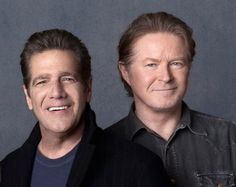 Glenn Frey and Don Henley of the Eagles discuss their band's career, which is told in a new Showtime documentary directed by Alison Ellwood and produced by Alex Gibney.