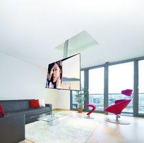 Soporte para TV de techo moderno / con mando a distancia / motorizado para techo