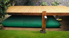 Récupérateur d'eau de pluie souple 3000L RECTANGLE