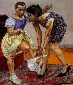 Paula Rego, Snow White series artodyssey1.blogspot.com
