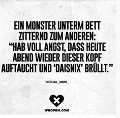ein Monster unterm Bett...