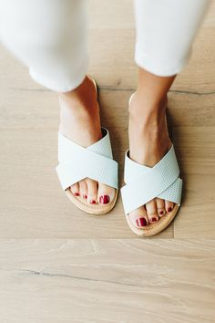 Duffy Mint Sandal