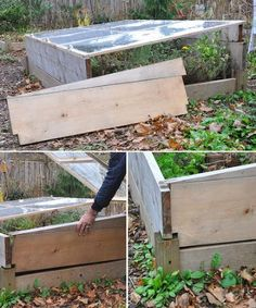 gardening cold frame raised bed quick, gardening, raised garden beds from raised bed to cold frame in under an hour
