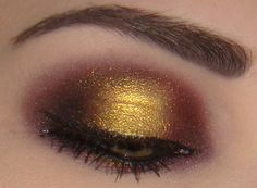 love gold eyeshadow