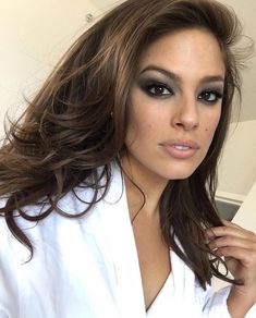 Ashley Graham is my inspiration for beautiful Kenzie!