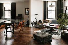 Living Room by Roman and Williams   Art De Vivre by francine gardner