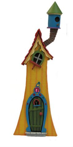Skinny Tower Fairy House from Sleepy Hollow