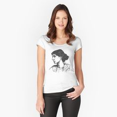 Virginia Woolf Women's Fitted Scoop T-Shirt