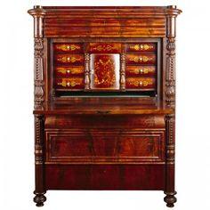 Senempire sekretær Regency Furniture, China Cabinet, Denmark, Home Decor, Homemade Home Decor, Decoration Home, Interior Decorating
