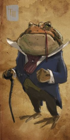 Art by Todd Bailey Mr Toad, Frog And Toad, Character Art, Character Design, Frog Illustration, Funny Frogs, Frog Art, Renaissance Paintings, Fairytale Art