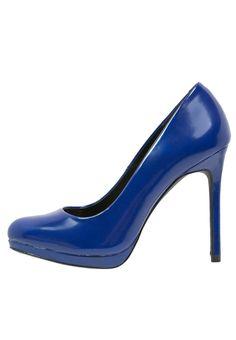 Even&Odd High Heel Pumps blue von Zalando - Schuhe in midnightblue - Mitternachtsblau für 32,00€