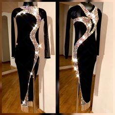 Capability wear and dance halloween costumes qualities on-trend patterns for those genres of dancing. Fabulous Dresses, Elegant Dresses, Beautiful Dresses, Latin Ballroom Dresses, Latin Dresses, Ballroom Dancing, Structured Fashion, Tango Dress, Figure Skating Dresses
