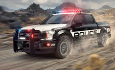 6 Coolest Police Vehicles of 2018 Police Truck, Ford Police, Police Cars, Police Vehicles, Chevrolet Tahoe, Custom Pickup Trucks, Ford Trucks, Led Warning Lights, Transformers Masterpiece