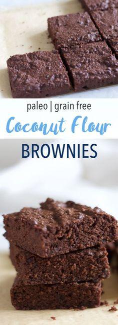 Paleo Coconut Flour Brownies | Empowered Sustenance