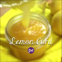 How To Make Lemon Curd {VIDEO} — Pip and Ebby Lemon Curd is a fresh, light and lemony filling or topping that goes great on cookies, cupcakes or baked treats! Lemon Recipes, Jam Recipes, Canning Recipes, Dessert Recipes, Recipe For Lemon Curd, Lemon Curd Recipe Canning, Dessert Recipe Video, Easy Lemon Curd, Lemon Curd Filling