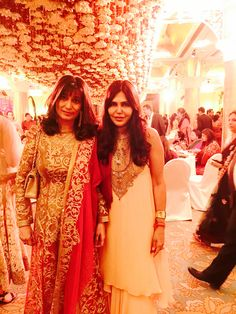 Grand floral design at a wedding banquet #wedding #design #NishaJamVwal