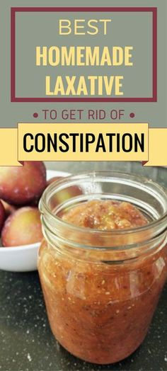 Best Homemade Laxative To Get Rid Of Constipation