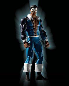 Blakc lightning figure | Figures: History of the DC Universe, Wave 2