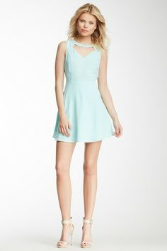 Embellished Cutout Dress by Romeo & Juliet Couture on @HauteLook