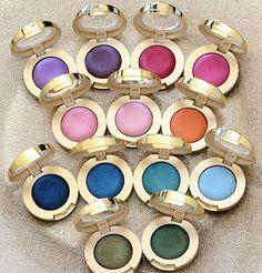 Milani Bella Eyes Gel Powder Eyeshadow, so excited about these!