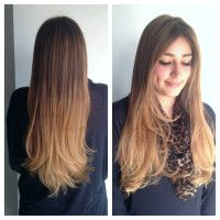 gradual ombre by Amber! #ombre #longhair