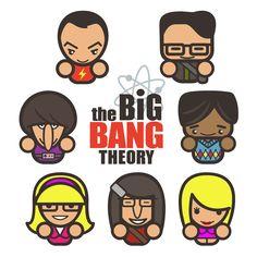 Krafty Nook: The Big Bang Theory Simple Fan Art