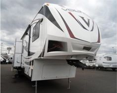 Used 2012 #Dutchmen Voltage 3950 #Fifth_wheel in Wood Village @ http://www.rvstock.net