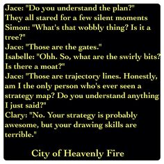 Jace Lightwood, Isabelle Lightwood, Clary Fairchild, and Simon Lewis (City of Heavenly Fire by Cassandra Clare ~ The Mortal Instruments book 6) Quote
