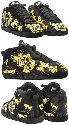 f75996bb1e7cc Slippers 11505  Uzzy La Brea Sneaker Slippers Plush Unisex Black -  BUY IT NOW  ONLY   32 on eBay!