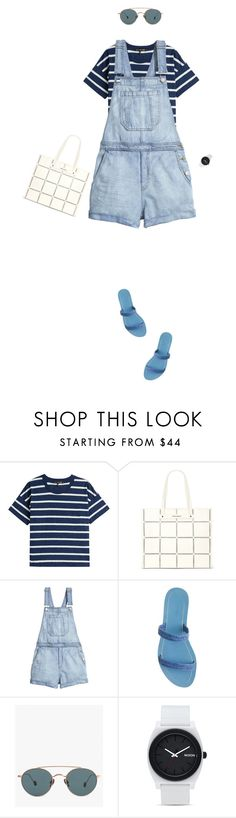 """""""Untitled #243"""" by simonethe on Polyvore featuring rag & bone, Vince Camuto, H&M, J.Crew, Ahlem, Nixon and Summer"""