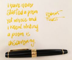 Handwritten Post - Writing is Discovering