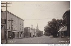 RP; Main Street (dirt), OXFORD , Nova Scotia , Canada , 00-10s - Delcampe.com Main Street, Street View, Nova Scotia, Original Image, Worlds Largest, Postcards, Real Life, Maine