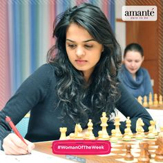 Our Woman of the Week is Tania Sachdev. The 28-year old Indian chess player, holds the titles of International Master and Woman Grandmaster. In 2009, she was conferred with the prestigious Arjuna Award. Want us to feature more women like her, comment below, they could become our #WomanOfTheWeek!