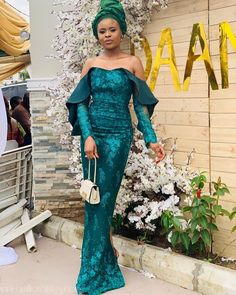 nigerian dress styles We are not anyone's mate, when it comes to lace styles, as you will see in the latest Nigerian lace styles and designs, volume Nigerian Dress Styles, Nigerian Wedding Dress, Aso Ebi Lace Styles, Ankara Dress Styles, Lace Dress Styles, Ankara Gowns, Wedding Dresses, African Attire, African Fashion Dresses