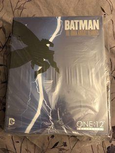 "DS Mezco One:12 Collective Dark Knight Returns Batman Figure 6"" Black Grey DCUC"