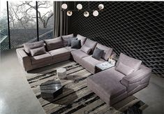 Good Quality China Supplier Luxury Big Sectional Sofa made by Cocheen Furniture, we are looking forward to build the modern furnishings business with you Contemporary Sofa, Modern Sofa, Sofa Design, Sectional Sofa, Modern Design, Cozy, Shapes, Luxury, Pretty