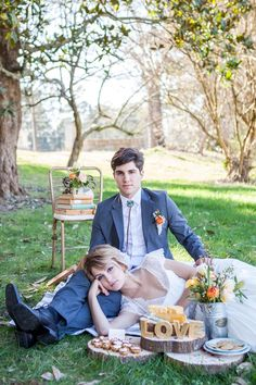 Picnic Wedding Inspiration Shoot Featured on Style Me Pretty Georgia