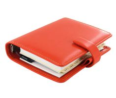 New Filofax Organizer in 2012- Metropol orange. Fantastic color through the Fall