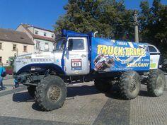 Europa Truck Trial 2016 Sedlčany - příprava - Fotogalerie - Europa Truck Trial - Sedlčany