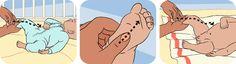 bebek masajı bebeğe güven duygusu kazandırmak ve ebeveyn sevgisini vermek için çok önemlidir.