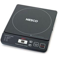 Nesco PIC-14 Portable Induction Cooktop, 1500-Watt